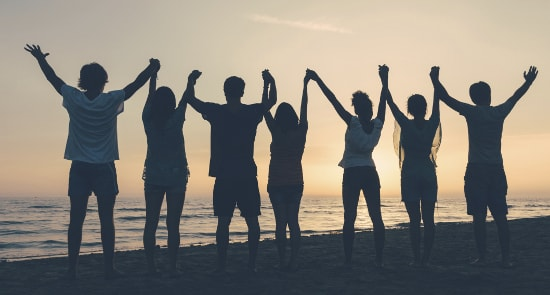 Surround yourself with abundant people and you will become abundant